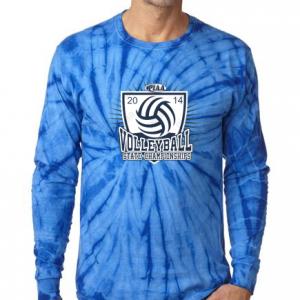 volleyball tye dye