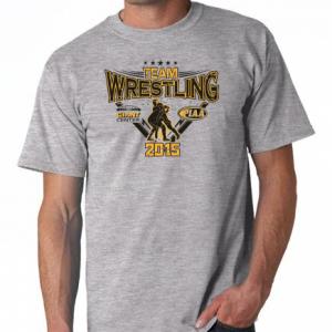 team wrestling sport gray