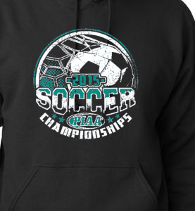 2015 Soccer State Championships Hoodie