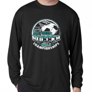 2015 Soccer State Championships Long Sleeve Tee Shirt