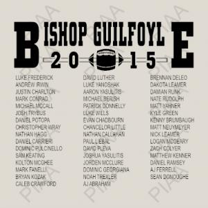Bishop Guilfoyle back