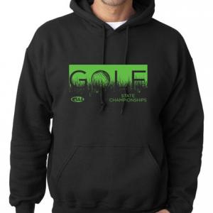 golf black hoodie