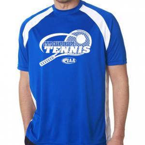 tennis wicking tee